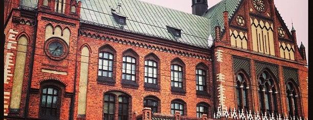 Latvijas Mākslas akadēmija is one of Ритин лист.