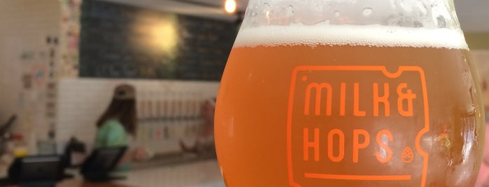 Milk & Hops Chelsea is one of Kさんのお気に入りスポット.