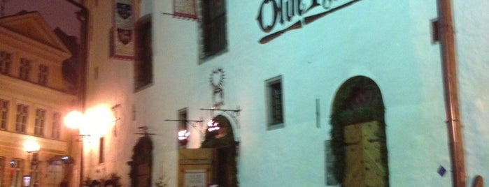 Olde Hansa is one of My wine's spots.