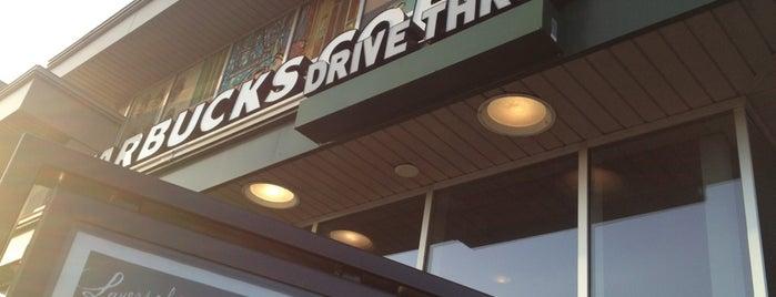 Starbucks is one of Kellie : понравившиеся места.