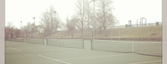 Druid Hill Park Tennis Courts is one of Bmore Checkin.