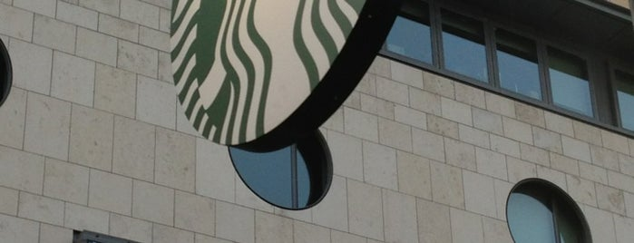 Starbucks is one of Orte, die Barry gefallen.