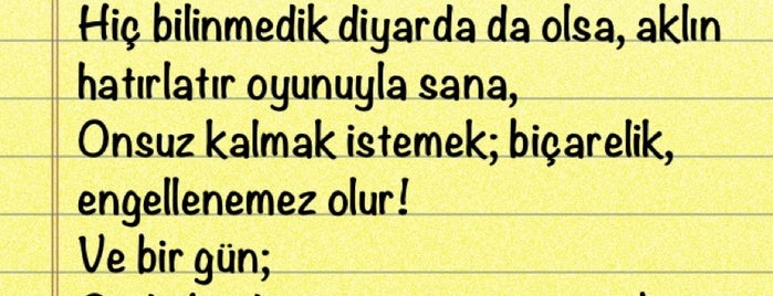 Psikoloji devinim Alanı is one of Kalemimden....
