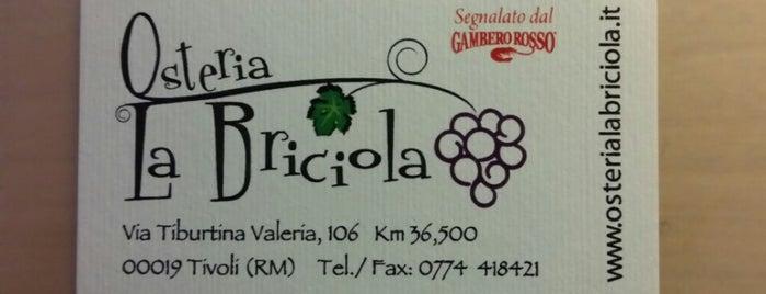 Osteria La Briciola is one of Locais curtidos por Fernanda.