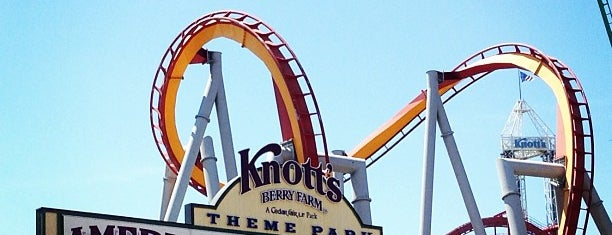 Knott's Berry Farm is one of The Most Popular Theme Parks in U.S..