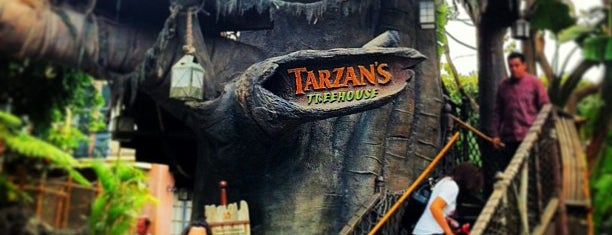 Tarzan's Treehouse is one of Been Here.