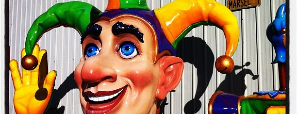 Blaine Kern's Mardi Gras World is one of New Orleans Places To Go.