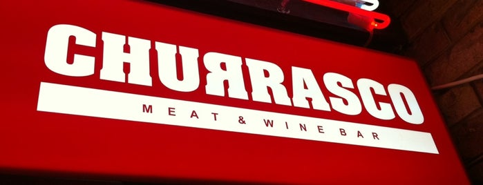 Churrasco Meat & Wine Bar is one of Lugares guardados de Andrey.