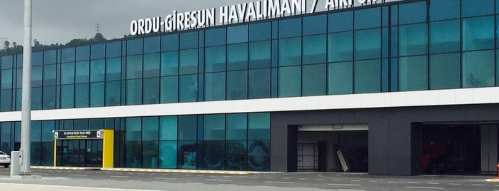Ordu - Giresun Havalimanı (OGU) is one of Check-in 4.