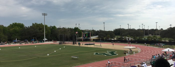 USF Track and Field Complex is one of Florida.