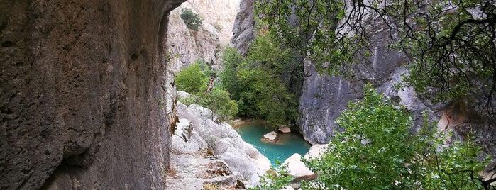 Yazılı Kanyon is one of Burdur ısparta.