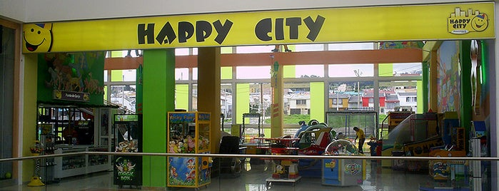 Happy City Unicentro Pasto is one of Tempat yang Disimpan Parque Happy City.