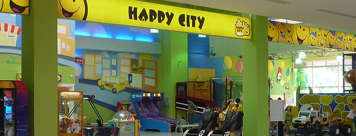 Happy City Unicentro Pereira is one of Tempat yang Disimpan Parque Happy City.