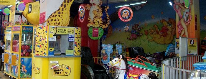 Happy City Éxito Pasto is one of Tempat yang Disimpan Parque Happy City.