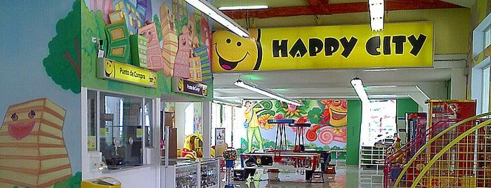 Happy City Alkosto Pasto is one of Tempat yang Disimpan Parque Happy City.