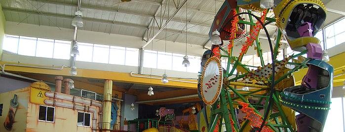 Happy City Guatapurí is one of Tempat yang Disimpan Parque Happy City.