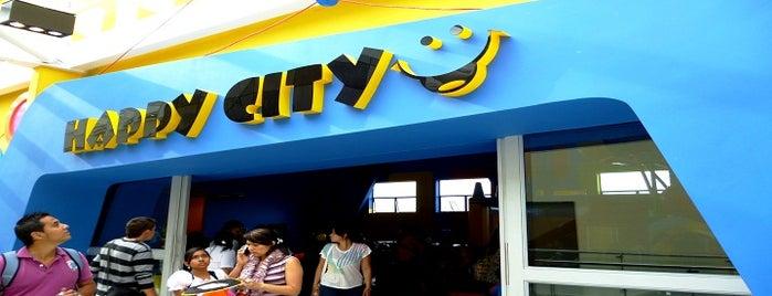Happy City Fundadores is one of Tempat yang Disimpan Parque Happy City.