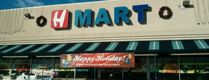 H Mart is one of Asian and International Markets.