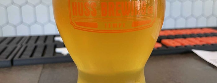 Huss Brewing Co. Taproom is one of Beer Spots.