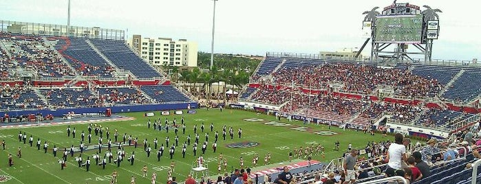 FAU Football Stadium is one of FBS Stadiums.