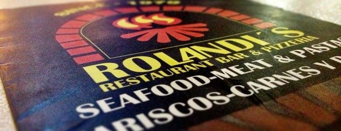 Rolandi's is one of สถานที่ที่ Ismael ถูกใจ.