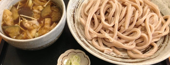 武蔵野うどん 一彩 is one of Lieux sauvegardés par Hide.