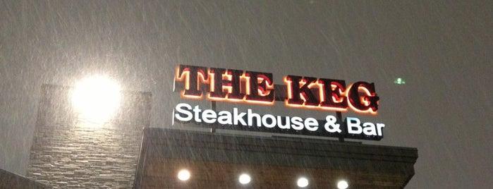 The Keg Steakhouse + Bar - Vaughan is one of Locais curtidos por Fikret.