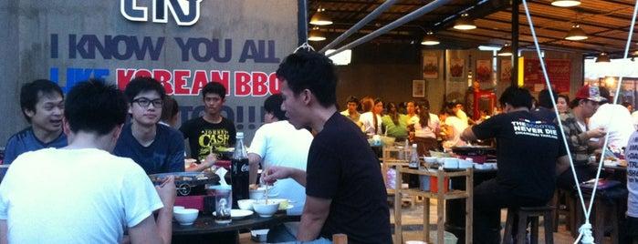 เมียงดง Korean BBQ is one of ChiangMai by williamlye.