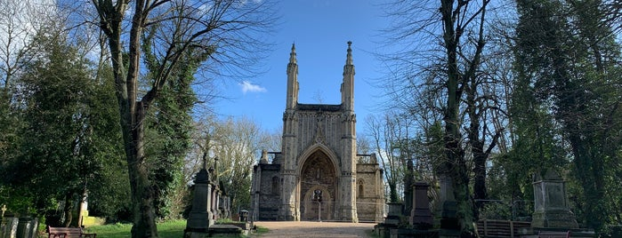 Nunhead Cemetery is one of Mallory's Liked Places.