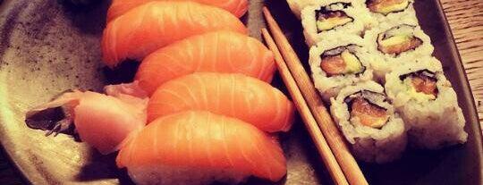 Sushi Neko Etiler is one of Tempat yang Disukai C.