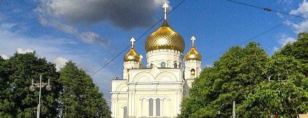 Воскресенский Новодевичий женский монастырь is one of Hookah by 님이 좋아한 장소.