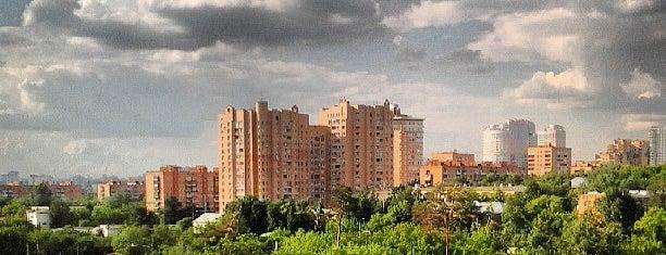 Shchukino District is one of Orte, die Alina gefallen.