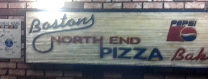 Bostons North End Pizza Bakery is one of betelgeus.