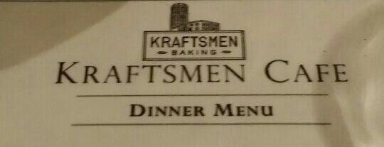 Kraftsmen Bakery & Cafe is one of Jared'in Beğendiği Mekanlar.