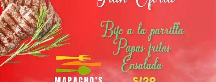 Mapacho's Restaurant is one of Jimena 님이 좋아한 장소.