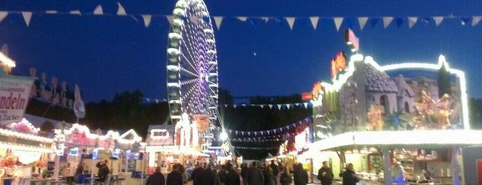 Oktoberfest Hannover is one of สถานที่ที่บันทึกไว้ของ Sebastian.