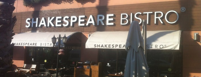 Shakespeare Coffee & Bistro is one of 20 favorite restaurants.