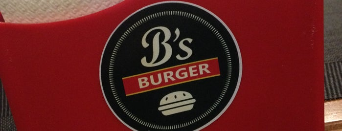 B's Burger is one of Locais curtidos por Erika.