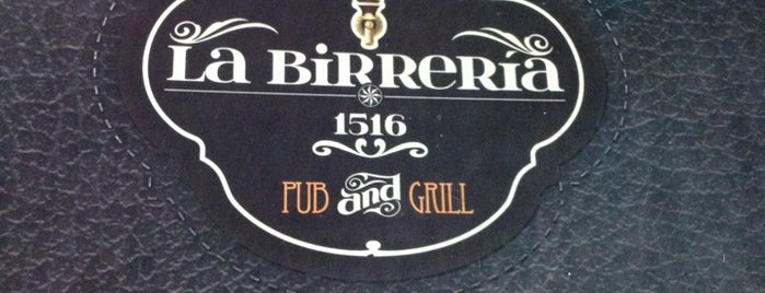La Birrería 1516 is one of Mauricioさんのお気に入りスポット.
