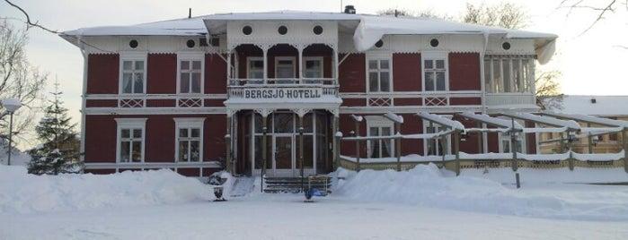 Bergsjö Hotell is one of Lieux qui ont plu à Daniel.