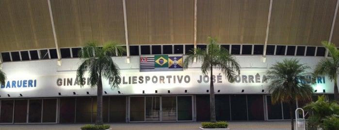 Ginásio Poliesportivo José Corrêa is one of Locais curtidos por RICARDO.