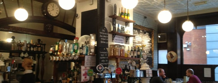 The Green Man is one of London Pubs.