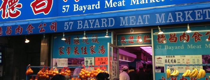 Bayard Meat Market is one of Markets, Meats, Fish.