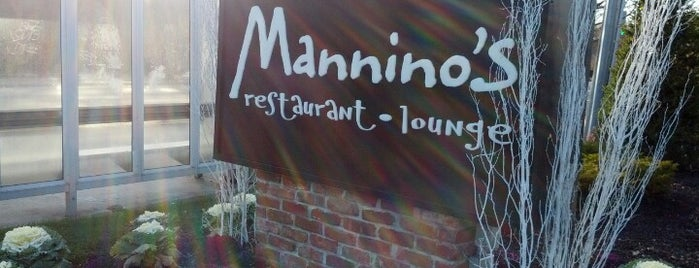 Mannino's Restaurant & Lounge is one of Jake : понравившиеся места.