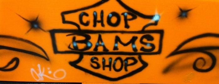 Bams Chop Shop is one of Locais curtidos por Gwen.