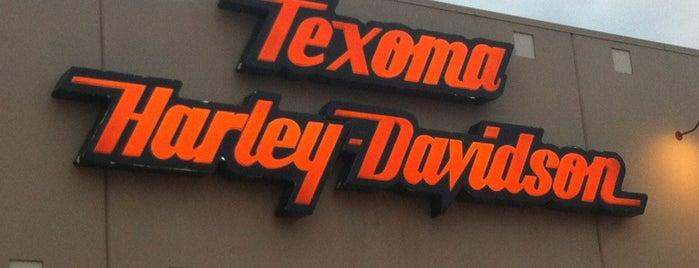 Texoma Harley-Davidson is one of Tempat yang Disukai Gwen.
