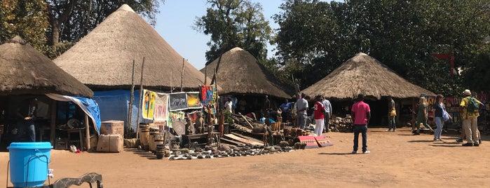 Kabwata Cultural Village is one of Lusaka, Zambia.