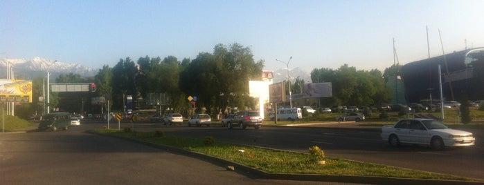 Достық даңғылы is one of Улицы Алматы.