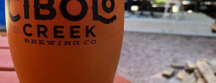 Cibolo Creek Brewing Co. is one of Lugares guardados de Tyrone.