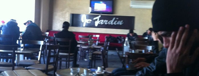 Cafe le Jardin is one of Tempat yang Disukai Mohamed.